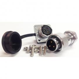Industrial connector WS16 series waterproof 3 pin