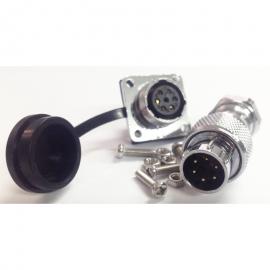 Industrial connector WS16 series waterproof 6 pin